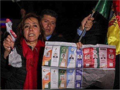 """UE expresa """"serias preocupaciones"""" por el recuento de votos en Bolivia"""
