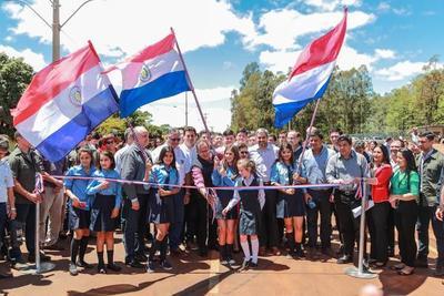 Gobierno habilita asfaltado en Caaguazú y anuncia más tramos para conectividad del departamento