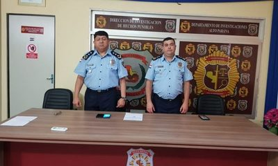 Cambian a director de Investigaciones del Alto Paraná