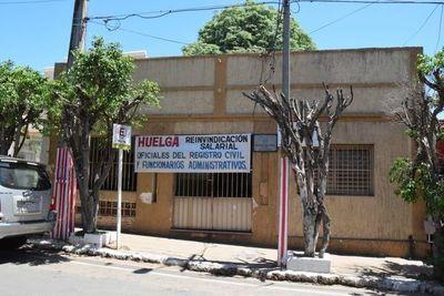 De cinco oficinas del Registro Civil, solo la central no atiende en San Lorenzo
