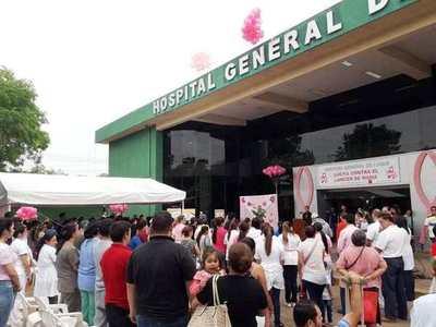 """Primera """"Caminata Rosa"""", este viernes en Luque •"""