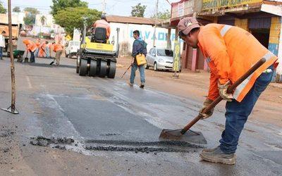 Aprueban contrato para asfalto y bacheo en Franco