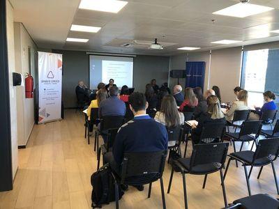 Capachi realizó charla sobre Reforma Tributaria
