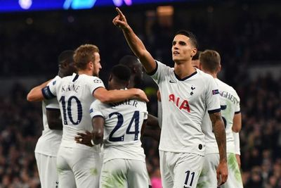Lamela guía al Tottenham