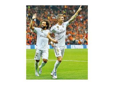 Tottenham y Real Madrid se despiertan