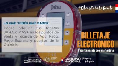 Se pone en marcha el billetaje electrónico en Paraguay