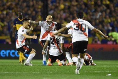 River le propina otro duro golpe a Boca y se clasifica a la final de la Libertadores