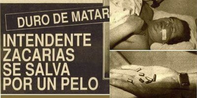 UN DÍA COMO HOY, 27 AÑOS ATRÁS BALEARON A UN INTENDENTE DE ENCARNACIÓN