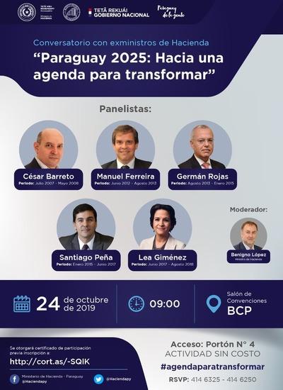 Conversatorio con exministros de Hacienda se realizará este jueves en el BCP