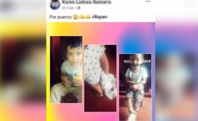 Investigan a mujer que habría maniatado y amordazado a su hijo pequeño
