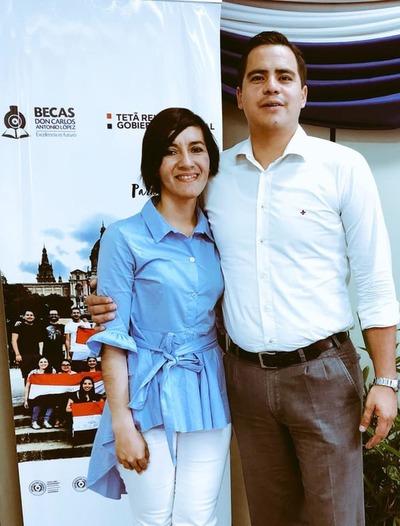 Becaria supera el cáncer de mamas y hoy enseña en instituciones educativas de Caaguazú