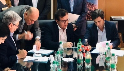 Yacyretá firmó contrato para equipamiento electromecánico de Aña Cuá