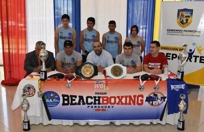 Boxeo de Playa genera gran expectativa en Luque •