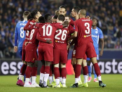 Liverpool se descarga con el Genk belga