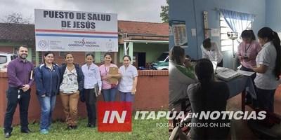 AUTORIDADES SUPERVISAN USF DE JESÚS, TRINIDAD Y CAMBYRETÁ