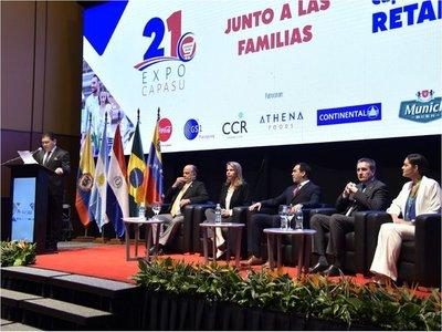 Expo Capasu  reafirma su   apoyo a las   pequeñas y medianas empresas