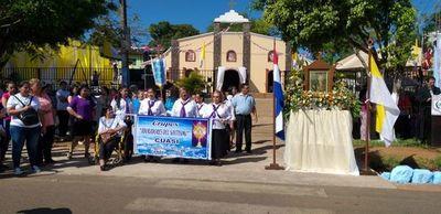 Populosa comunidad de Luque celebra hoy la festividad de San Rafael Arcángel