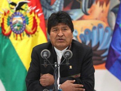 Evo Morales lleva ventaja para ganar en primera ronda