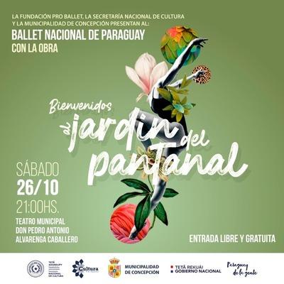 Ballet Nacional presentará en Concepción, obra Bienvenidos al Jardín del Pantanal