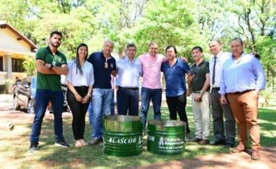 Donan basureros a la Municipalidad de CDE