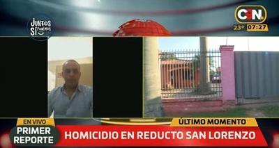Hombre es asesinado en Reducto San Lorenzo