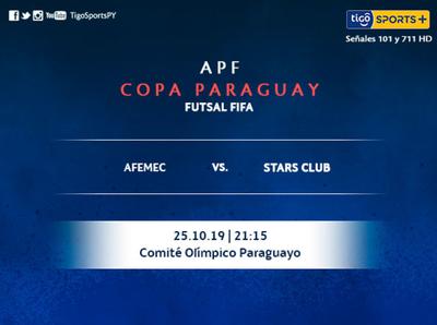 Otra jornada por la Copa Paraguay de futsal