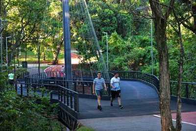 En menos de 72 horas, más de 1.000 personas ya visitaron el Parque Lineal