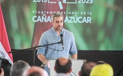 """Mario Abdo en modo irónico en Guairá: """"Desastre ko Marito"""""""
