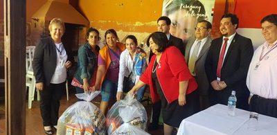 San Lorenzo: Incluyeron a 28 familias más en el Programa Abrazo
