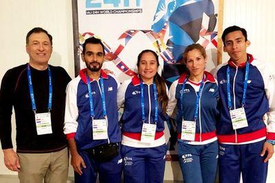 Cuatro paraguayos corren en Francia