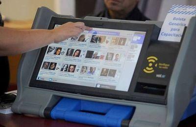 En plena licitación de voto electrónico, el Senado debatirá  reforma electoral