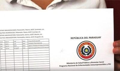 Es obligatorio presentar certificado de vacunación contra fiebre amarilla, recuerdan