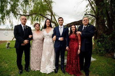 La unión matrimonial de Adriana y Javier