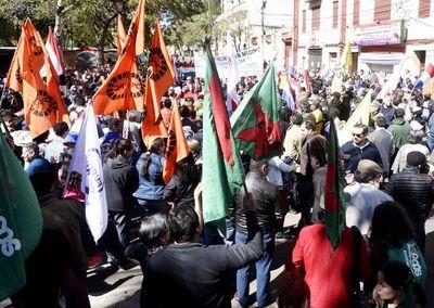 Campesinos recalcan que no marcharán en Asunción