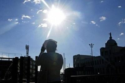 Meteorología advierte sobre extremo calor en todo el país