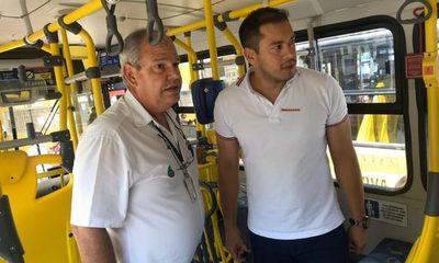 Prieto visita Guararema-Brasil y planea renovar flota de buses en CDE