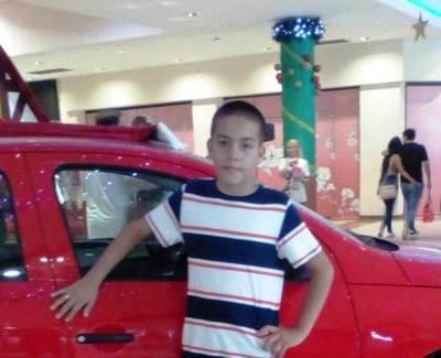 Niño de 12 años continúa desaparecido •