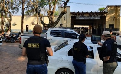"""Una veintena de policías detenidos por """"protección"""" a capo narco"""