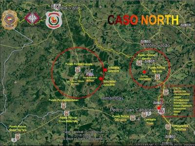 OPERATIVO NORTH: ALLANAMIENTOS SIMULTANEOS EN VARIOS PUNTOS DEL PAÍS