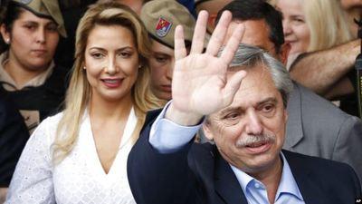 Fernández gana elecciones en la Argentina