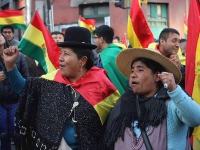 Las protestas en contra y a favor de Evo Morales se intensifican