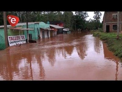 COORDINAN ACCIONES EN CASOS DE DESASTRES NATURALES