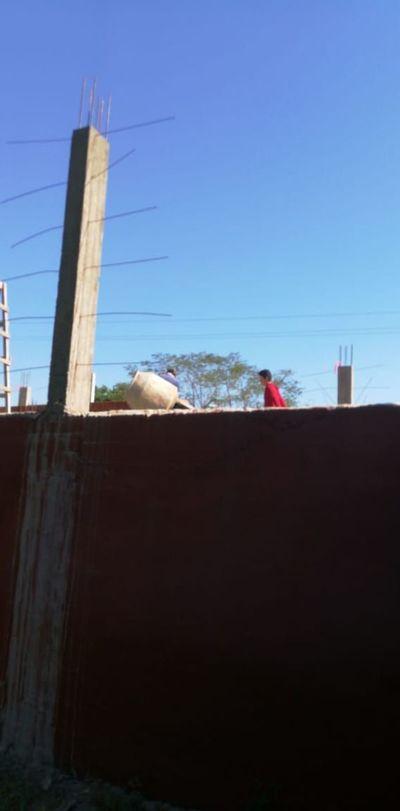 Continúa obra a pesar de daños patrimoniales en San Ignacio