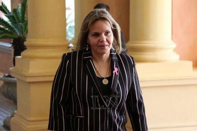 """""""Juicio político no tiene fuerza hoy"""", según Lilian Samaniego"""