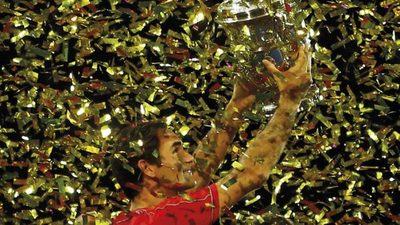 Federer, de paseo por Basilea