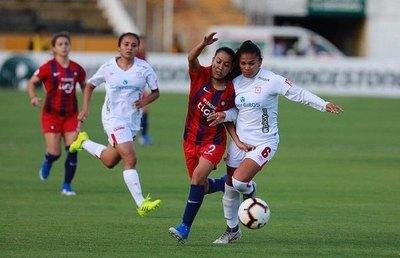 Cerro fuera del podio de la Libertadores Femenina