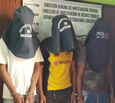 Incautan crack y detienen a jóvenes en Concepción