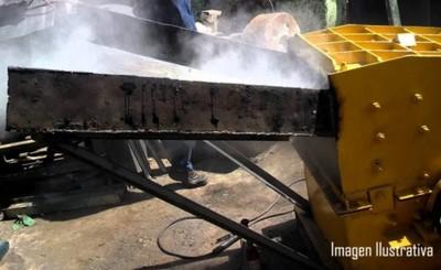 Trabajador muere triturado