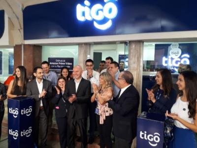 Reinauguran Tigo Mall Excelsior