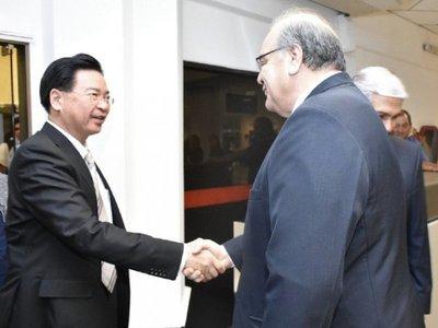 Ministro taiwanés visita Paraguay para aumentar cooperación comercial